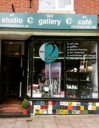 Cafe Shop Signage