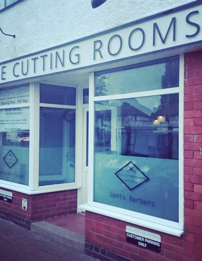 Cutting Rooms Sign