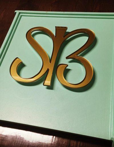 SB Shop Sign