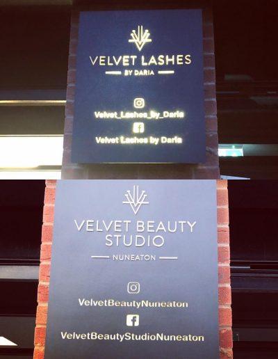 VL Laser cut Sign Back Lite