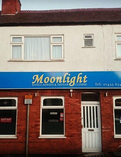 moonlight backlite sign