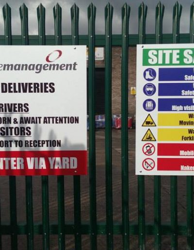 phs site signs